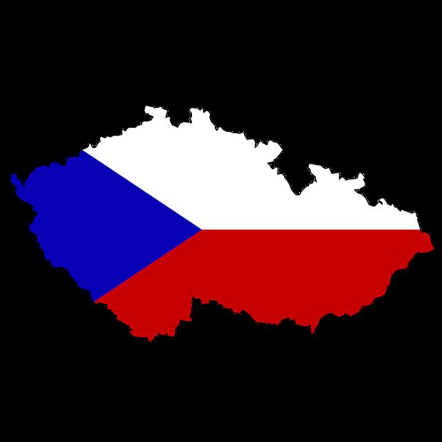 mapa Česka
