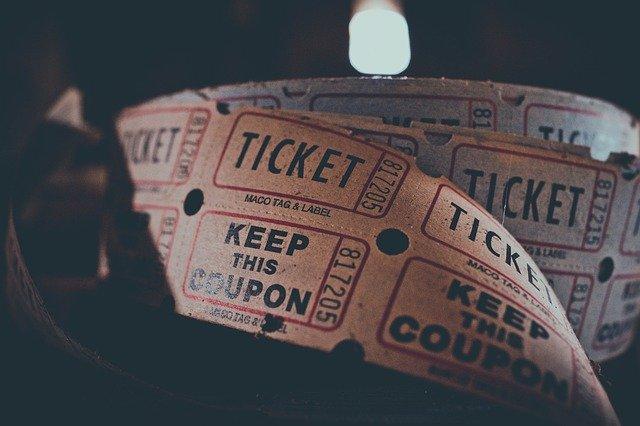lístek, kino