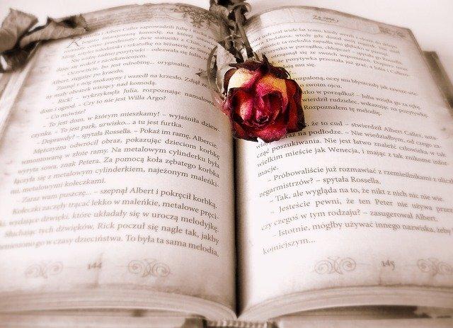 Růže skrytá v knize