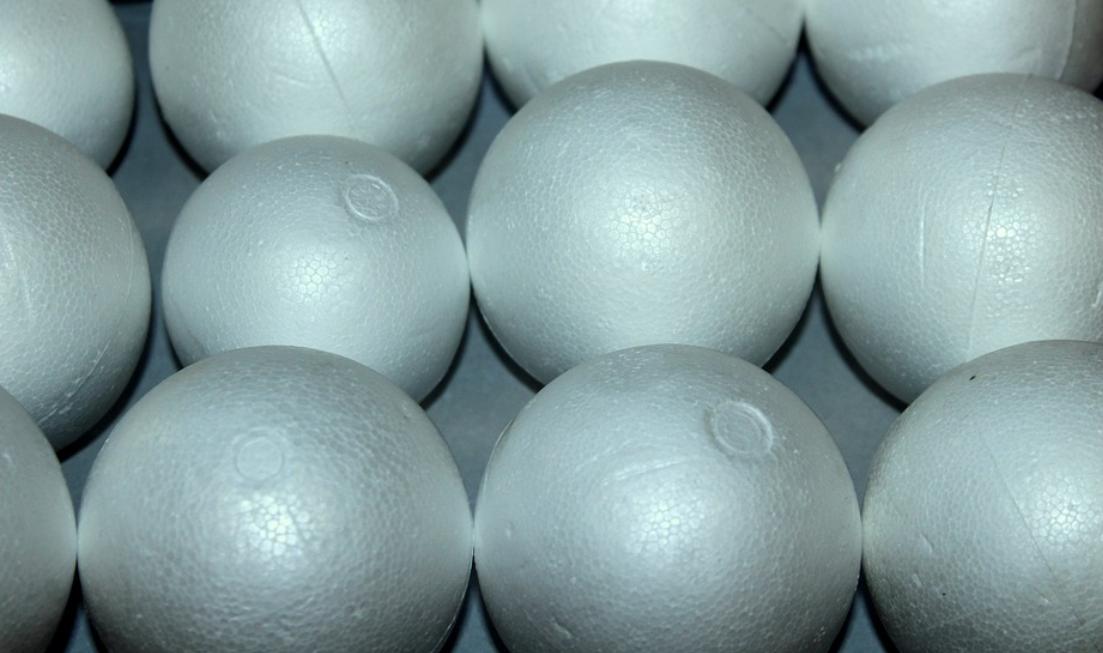 polystyrénové koule